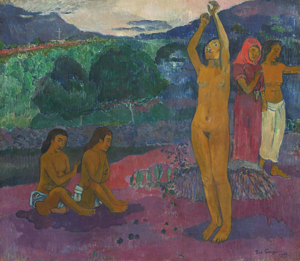 Painting - The Invocation by Paul Gauguin