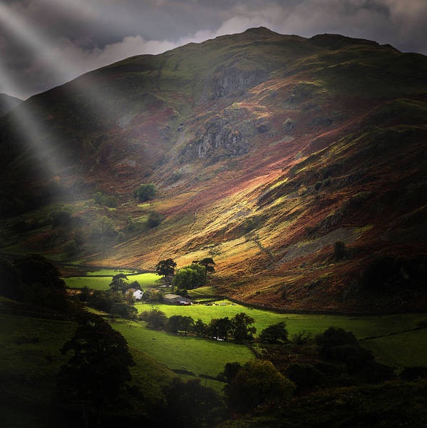 Grasmere Wall Art - Photograph - The Lake District by Chris Smith