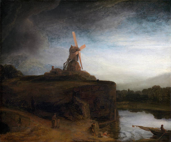 Painting -  The Mill by Rembrandt van Rijn