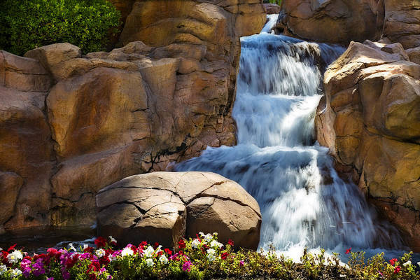Famous Waterfall Wall Art - Photograph - The Mirage V by Ricky Barnard