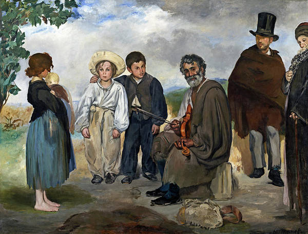 Painting - The Old Musician by Edouard Manet