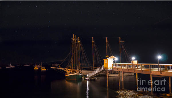 Photograph - The Schooner Margaret Todd by New England Photography