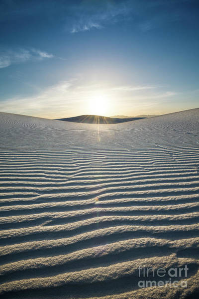 Chihuahuan Desert Photograph - The Unique And Beautiful White Sands National Monument In New Mexico. by Jamie Pham