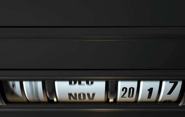 Moving Digital Art - Timelapse Odometer Concept by Allan Swart