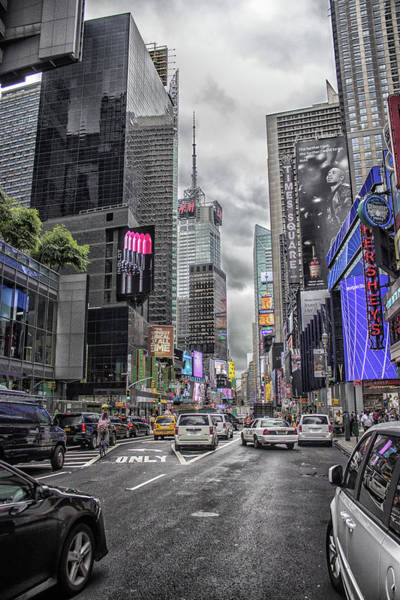 Town Square Photograph - Times Square by Martin Newman