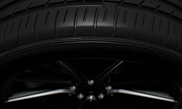 Wall Art - Digital Art - Tire Dark Background by Allan Swart