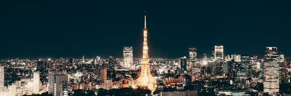 Photograph - Tokyo Skyline by Songquan Deng