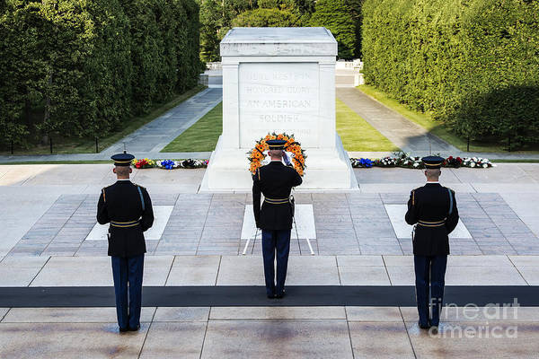 Wall Art - Photograph - Tomb Of The Unknown Soldier by John Greim