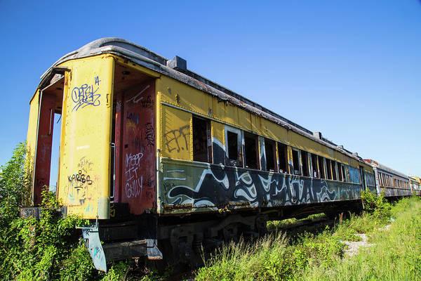 Photograph - Train Art by Dart Humeston