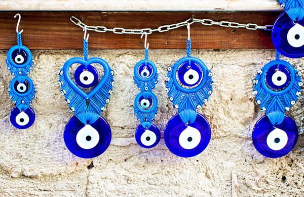 Wall Art - Photograph - Turkish Eye Souvenirs by Tom Gowanlock