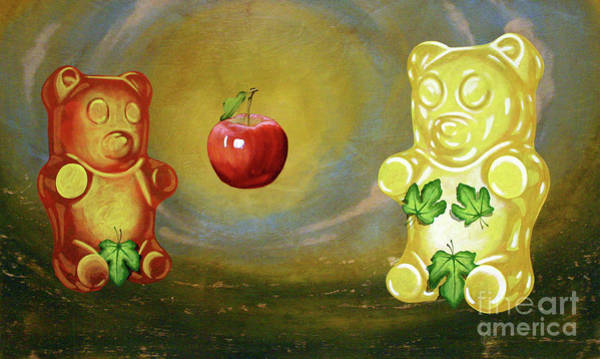 Gummy Bear Painting - Untitled by Derek Smith