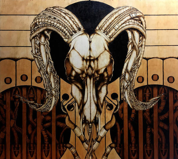 Pyrography Wall Art - Pyrography - Untitled by Jeff DOttavio