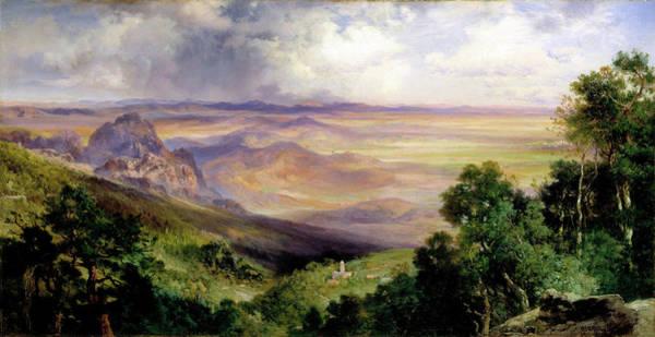 Wall Art - Painting - Valley Of Cuernavaca by Thomas Moran