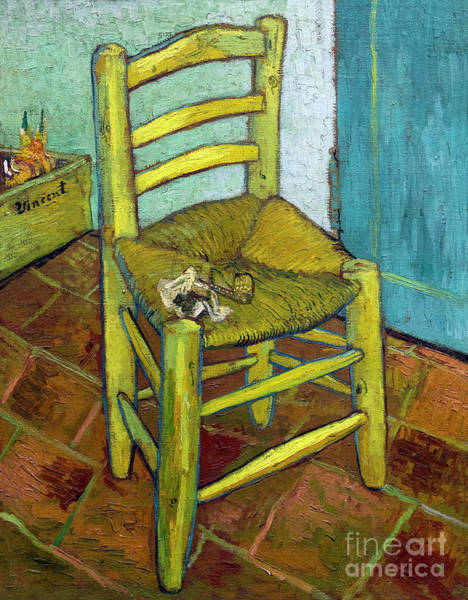 Painting - Van Gogh's Chair by Vincent Van Gogh
