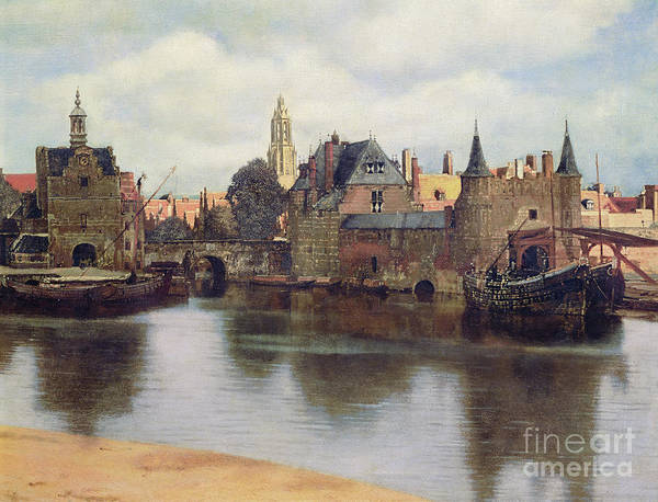 View Of Delft Art Print