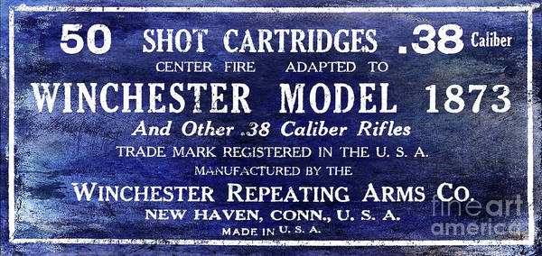 Wall Art - Photograph - Vintage Ammunition Sign by Jon Neidert