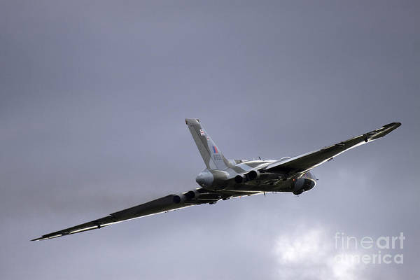 Avro Vulcan Wall Art - Photograph - Vulcan To The Sky by Angel Ciesniarska