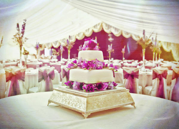 Wall Art - Photograph - Wedding Cake by Tom Gowanlock