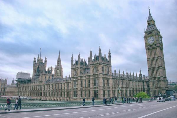 Wall Art - Photograph - Westminster Bridge by Martin Newman