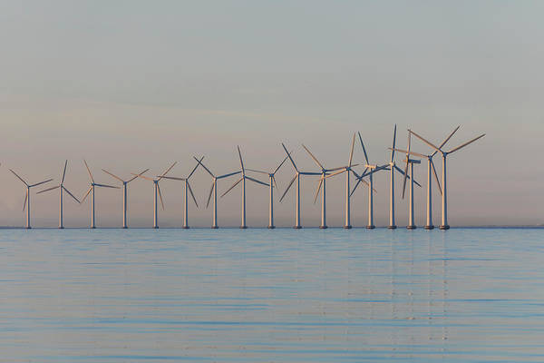Offshore Wall Art - Photograph - Windmills by Joana Kruse