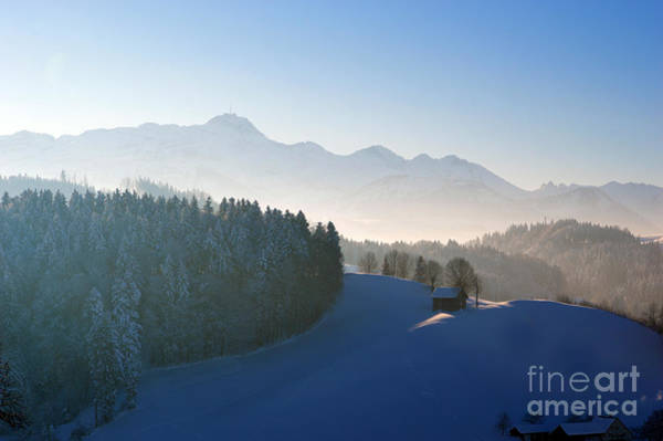 Photograph - Winter In Switzerland by Susanne Van Hulst