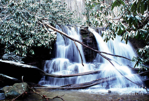 Photograph - Winter Waterfall by Thomas R Fletcher