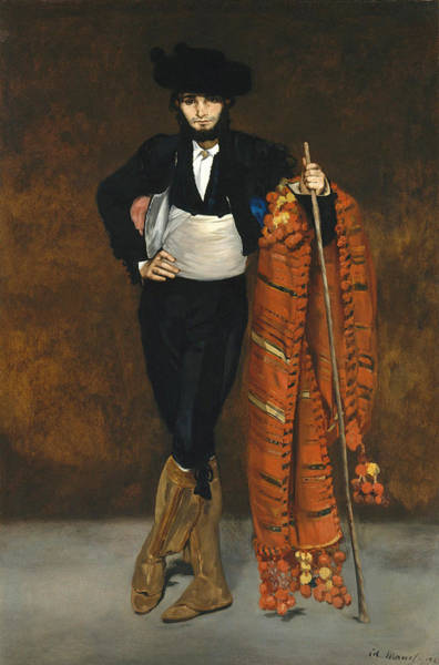Painting - Young Man In The Costume Of A Majo by Edouard Manet