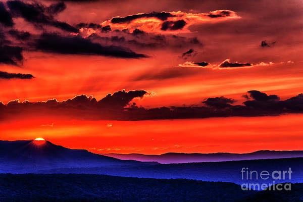 Highland Scenic Highway Wall Art - Photograph - Allegheny Mountain Sunrise #22 by Thomas R Fletcher