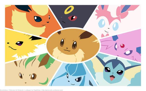 Pokemon Wall Art - Digital Art - 41897 Pokemon by Mery Moon