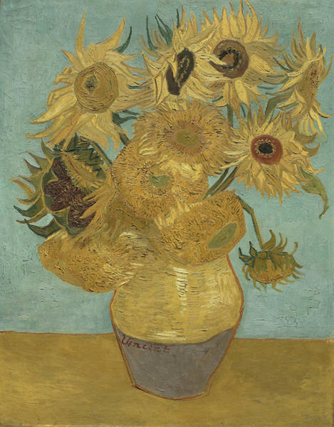 Object Painting - Sunflowers by Vincent van Gogh