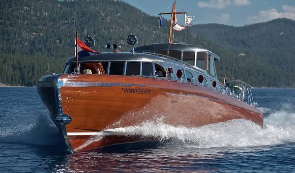 Photograph - Thunderbird Yacht by Steven Lapkin