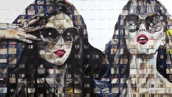 Skyline Digital Art - Women by Maye Loeser