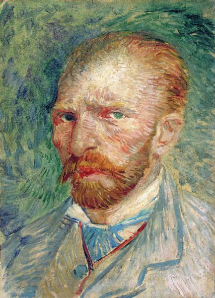 Painting - Self Portrait by Vincent van Gogh