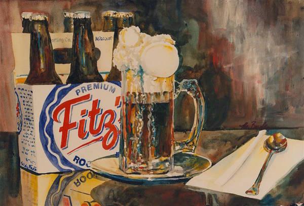 Soda Pop Painting - 430 Root Beer by Marilynne Bradley