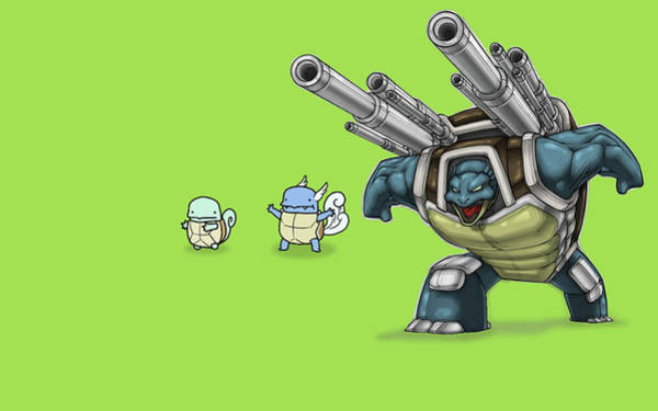 Pokemon Wall Art - Digital Art - 4334 Pokemon by Mery Moon
