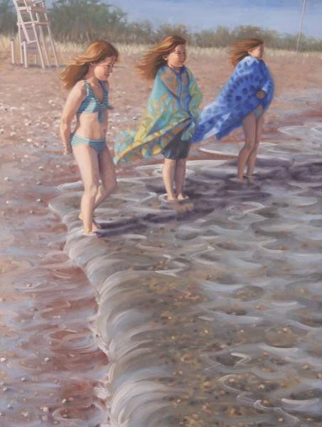 Painting - Three Sisters by Gary M Long