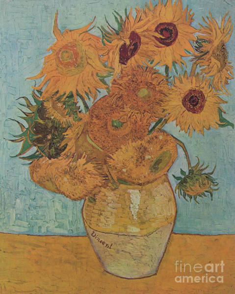 Painting - Van Gogh Sunflowers by Vincent Van Gogh