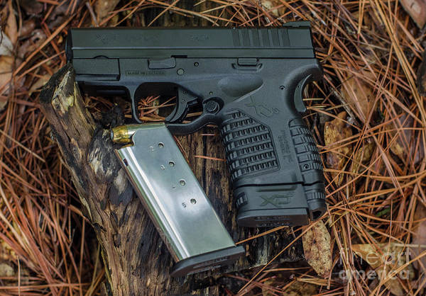 Photograph - 45 Acp Carry Gun by Dale Powell