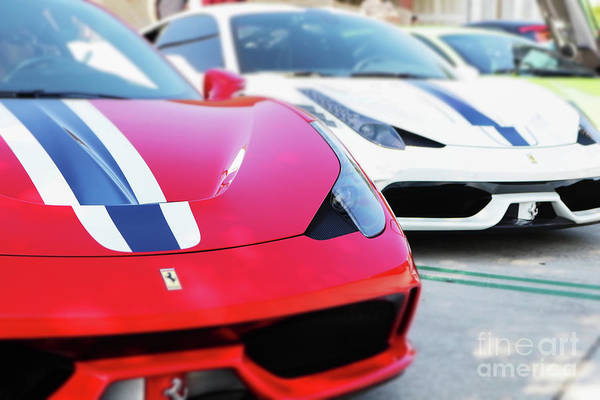 458 Photograph - 458 Speciale by Wayne Tucker