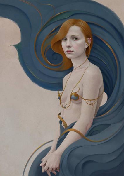 Hair Digital Art - 459 by Diego Fernandez