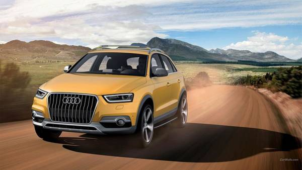 Q Digital Art - 45994 Audi Q3 by Mery Moon