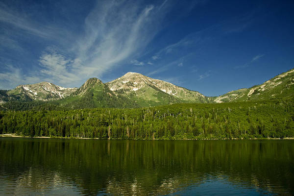 Photograph - Mountain Lake by Mark Smith