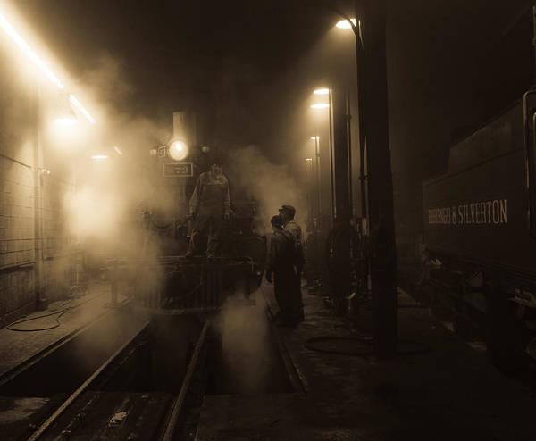 Roundhouse Photograph - 473 Service by Patrick  Flynn