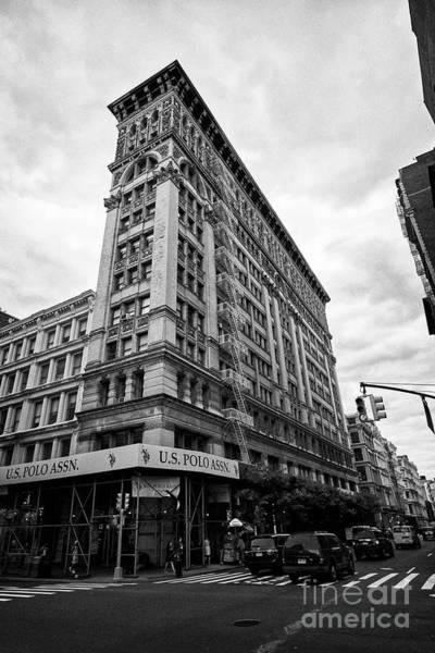 Wall Art - Photograph - 487 Broadway Former Silk Exchange Now Haggin Building New York City Usa by Joe Fox