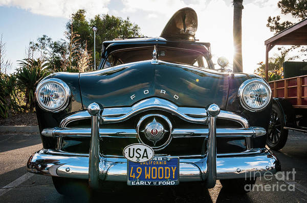 Photograph - '49 Dodge Woodie by David Levin