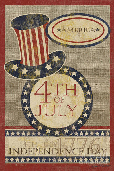 Wall Art - Painting - 4th Of July by Jean Plout