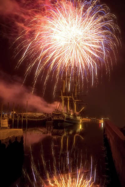Wall Art - Photograph - 4th Of July Salem Mass by Jeff Folger