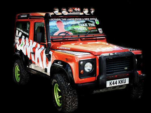Off-road Vehicles Photograph - 4X4 by Martin Newman