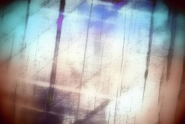 Pastel Drawing Photograph - Abstract Painting by Tom Gowanlock