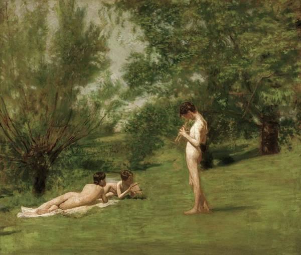 Painting - Arcadia by Thomas Eakins